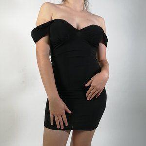 🖤2/30$ -- Sexy off-the-shoulder little black dress